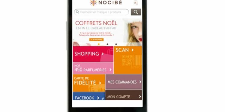 A télécharger : la nouvelle appli Nocibé