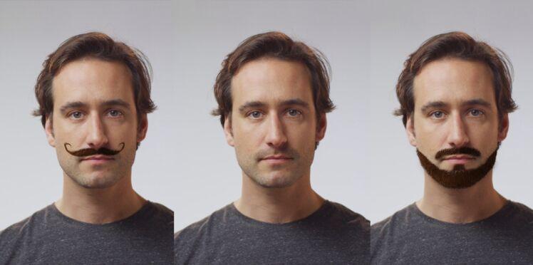 Avec ou sans barbe, l'appli futée pour eux les hommes