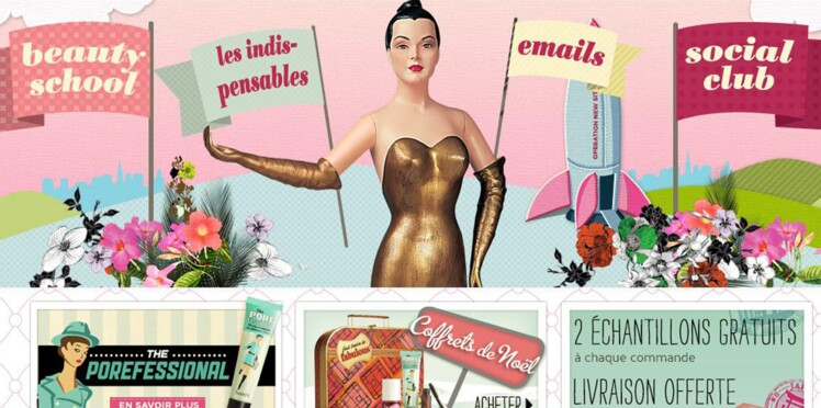 Benefit Cosmetics lance sa boutique en ligne en France