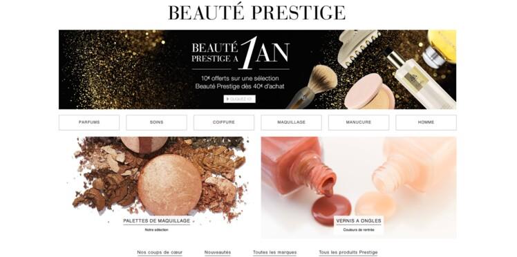 - 10 € en bon d'achat chez Amazon Beauté Prestige