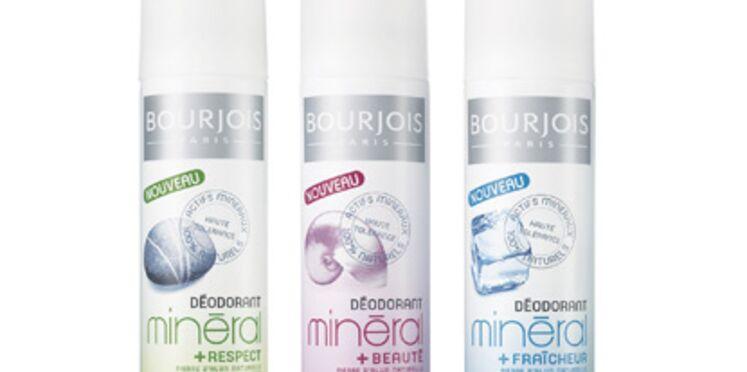 Bourjois lance une gamme de déodorants naturels à la pierre d'alun