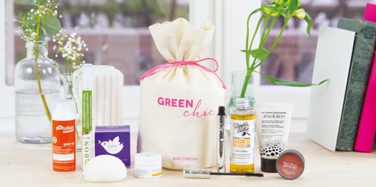 Green Chic : la box naturelle qui sent bon le printemps !