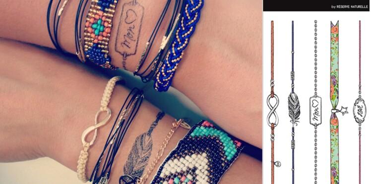 Ultra-tendance ces bracelets éphémères !