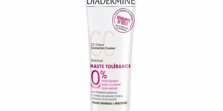 Une CC cream pour les peaux sensibles