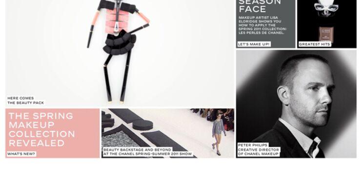 Chanel lance un site interactif dédié au maquillage