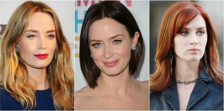 Blonde, brune ou rousse, comment préférez-vous Emily Blunt ?