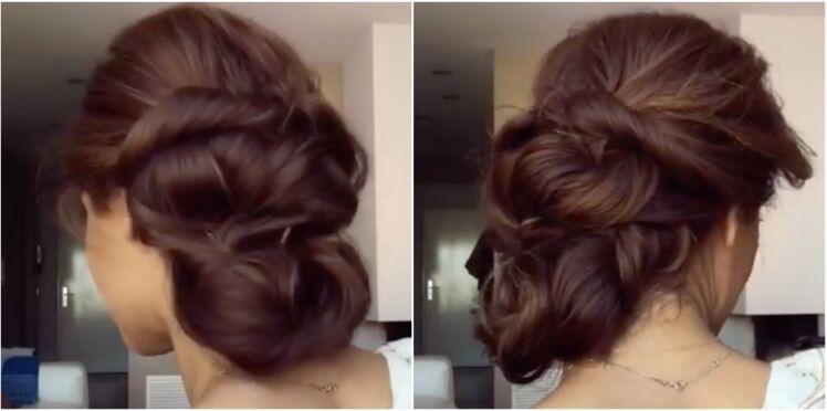 Vidéo : une coiffure bohème en 5 minutes chrono