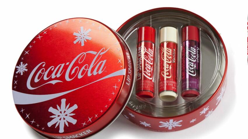 Collector, le coffret de baumes à lèvres au Coca Cola