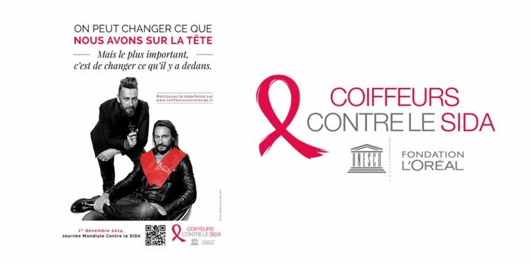 Les coiffeurs se mobilisent contre le SIDA