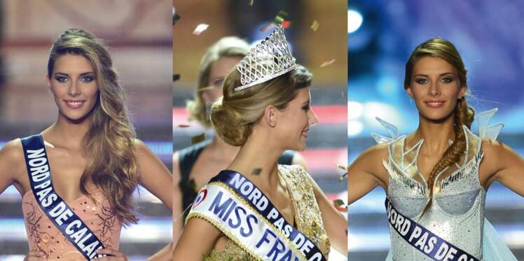 Miss France 2015 : ses plus belles coiffures lors du show