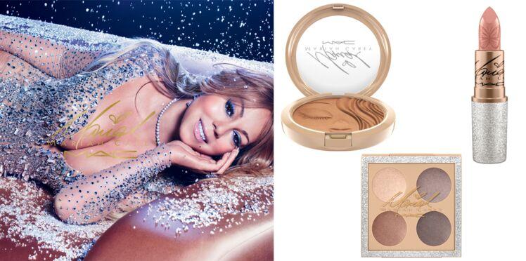 Mariah Carey imagine une collection chez MAC pour les fêtes
