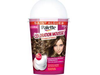Coloration cheveux marque palette