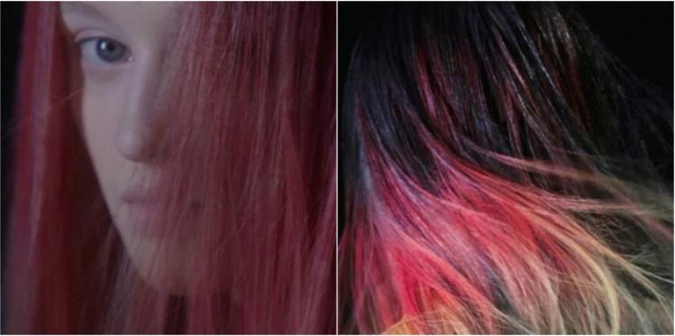 Incroyable, la coloration qui change de couleur avec la chaleur