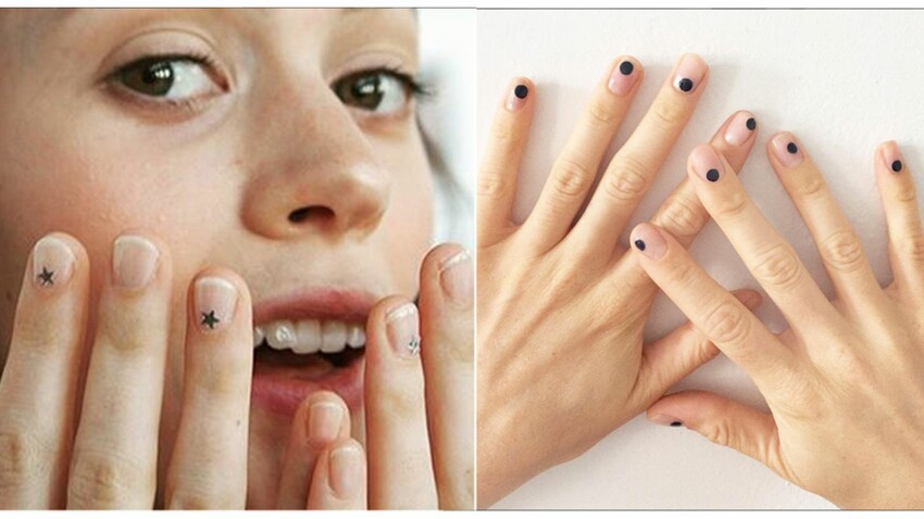 Le nail art minimal on se lance ?