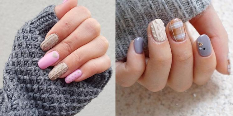 Sweater Nails, comment obtenir cet effet sur les ongles ?