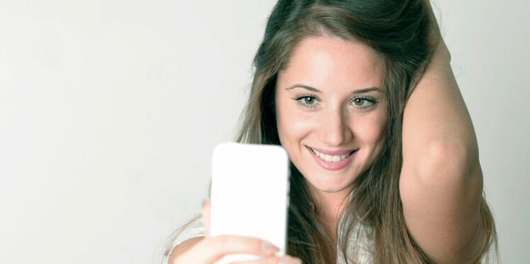 Un selfie pour un baume Clarins