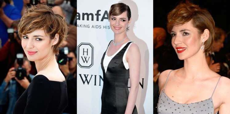 Louise Bourgoin : 1 coupe courte, 3 versions