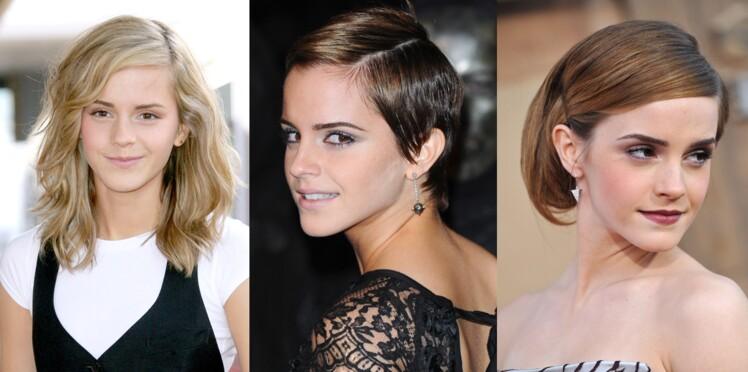 Emma Watson : son évolution capillaire en images