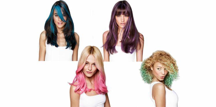 Des craies de couleur éphémères pour les cheveux, vous osez ?