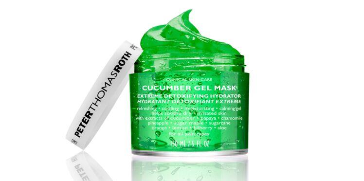 A découvrir : le concombre en version masque gel