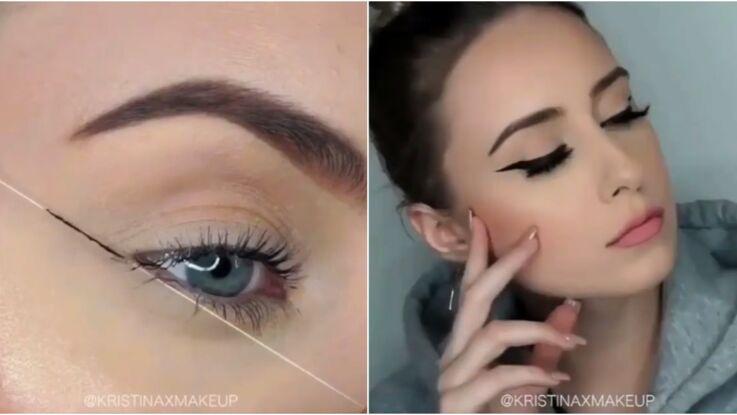 Vidéo - Découvrez l'astuce pour faire un trait d'eyeliner parfait