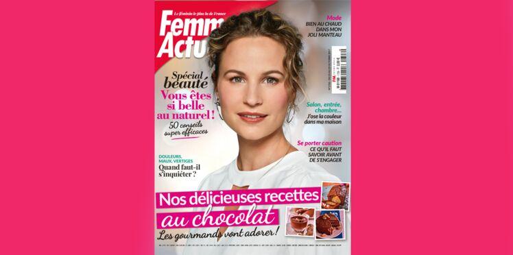 Le magazine Femme Actuelle fait poser une de ses journalistes en couverture: une première !