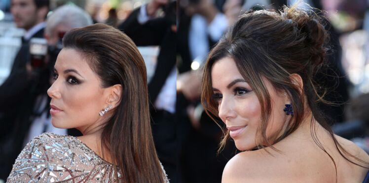 Spécial Cannes : les looks coiffures d'Eva Longoria
