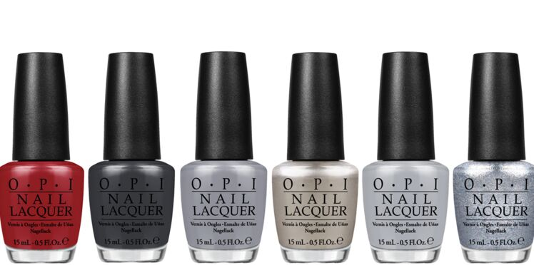 Fifty shades of grey décliné en vernis à ongles