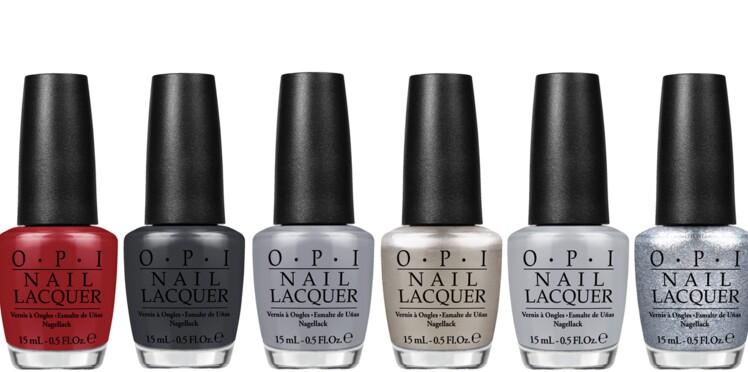 Fifty shades of grey décliné en vernis à ongles