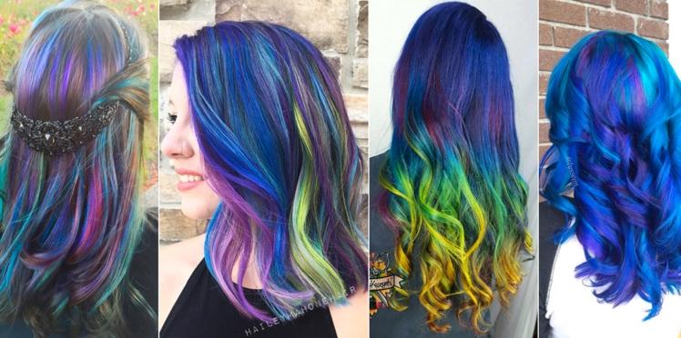 Galaxy hair : la tendance capillaire qui fait le buzz