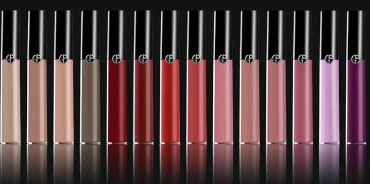 Giorgio Armani imagine un gloss haute définition alliant brillance et longue tenue