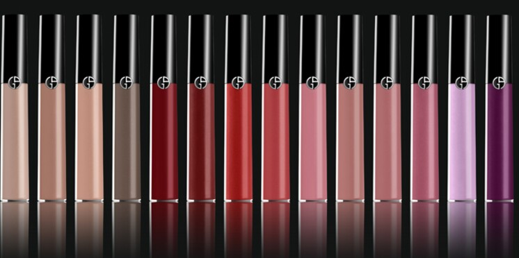 Giorgio Armani imagine un gloss haute définition alliant brillance et longue tenue