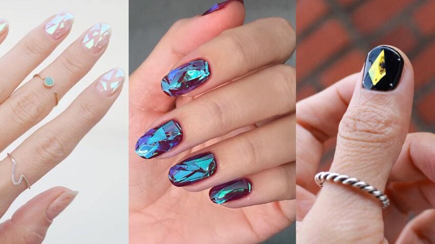 Glass nails : la manucure de cet automne/hiver ?