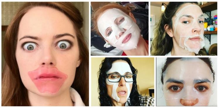 Golden Globes : quelles actrices se cachent derrière ces masques beauté ?