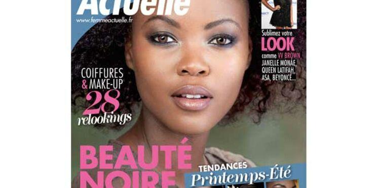 Beauté noire, le hors-série de Femme Actuelle en kiosque et sur Ipad