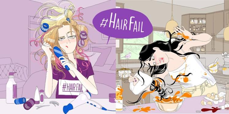 #Hairfail : partagez votre pire expérience capillaire et gagnez un fer à boucler