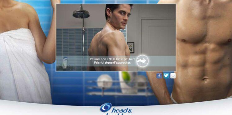 Prenez une douche avec un beau mec !