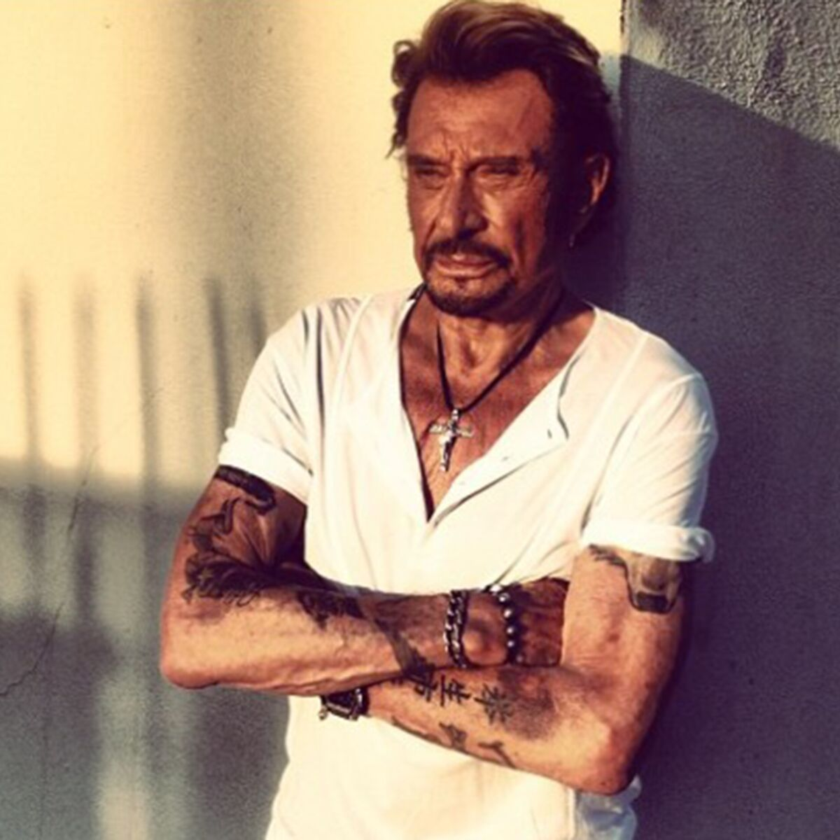 Johnny Hallyday Decryptage De 6 De Ses Tatouages Femme Actuelle Le Mag