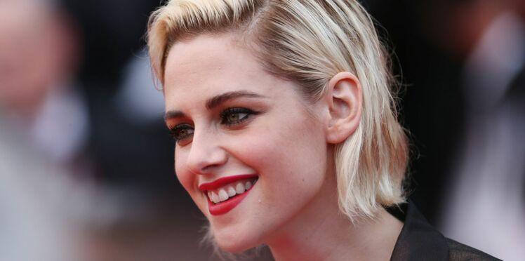 Kristen Stewart blonde platine au Festival de Cannes