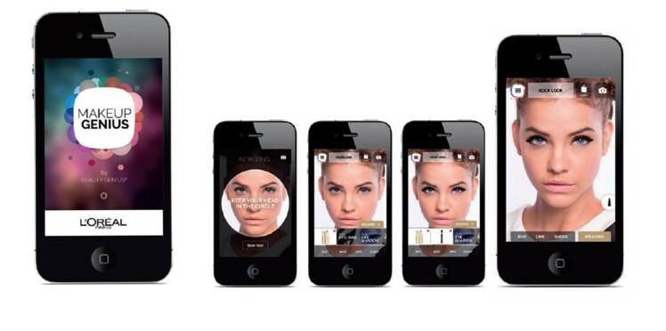 L'appli qui permet de tester du make up !