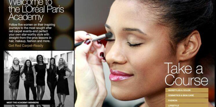 La L'Oréal Paris Academy débarque sur la Toile