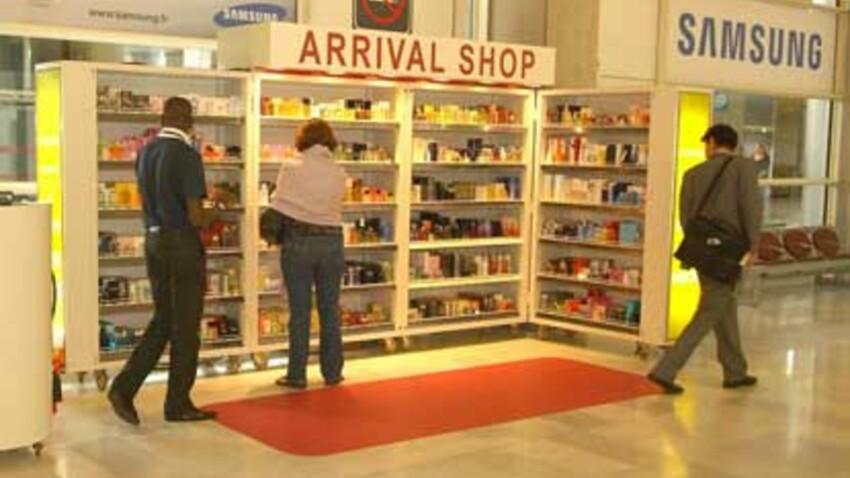 Le « last minute shopping » à l'aéroport.