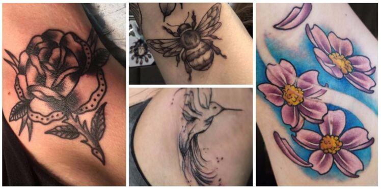 """Le """"Armpit Tattoo"""" : nouvelle tendance tatouage à porter… sous les aisselles !"""