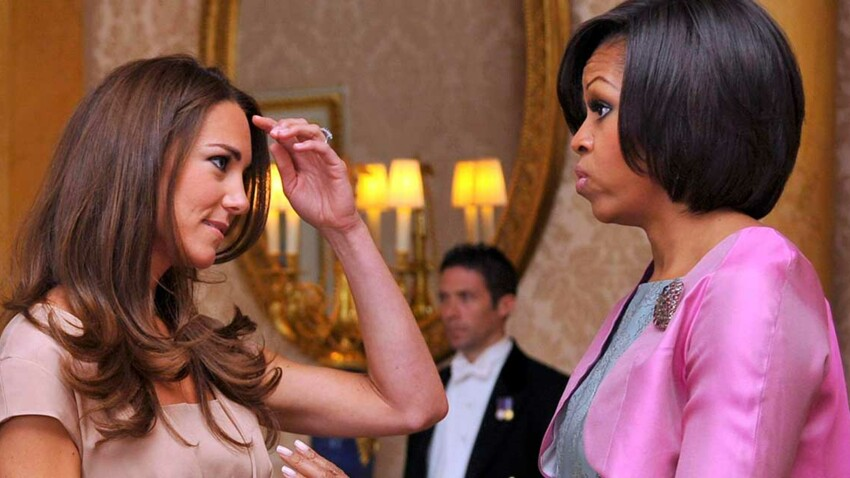 Kate Middleton et Michelle Obama ont le même secret anti-âge