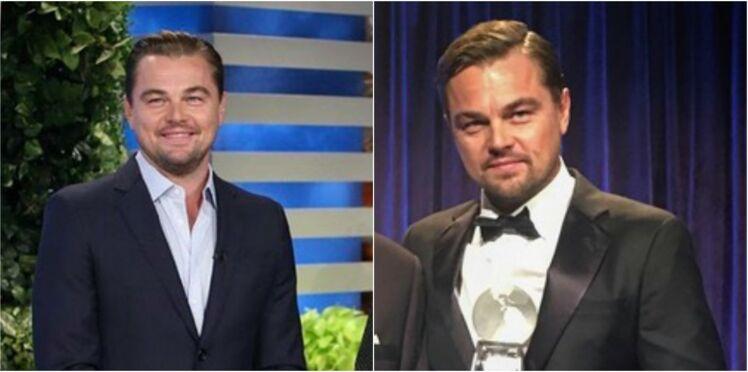 Léonardo DiCaprio ne rigole pas avec ses sourcils !