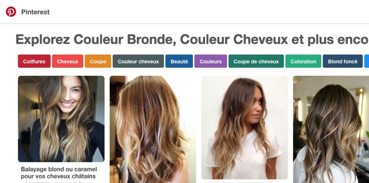Découvrez les 5 colorations les plus tendance sur Pinterest