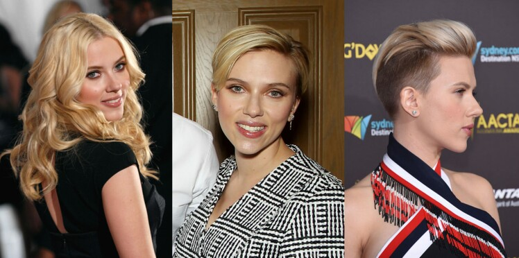 Scarlett Johansson passe au (très) court
