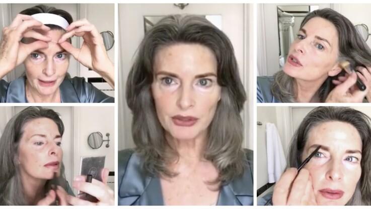Les secrets de beauté jeunesse d'un mannequin sénior