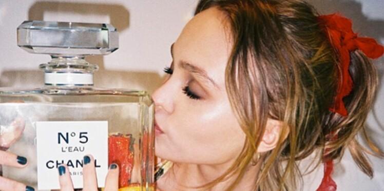 Lily-Rose Depp, nouvelle égérie Chanel n° 5