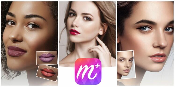 Lisa Eldridge crée un look virtuel pour l'appli MakeupPlus